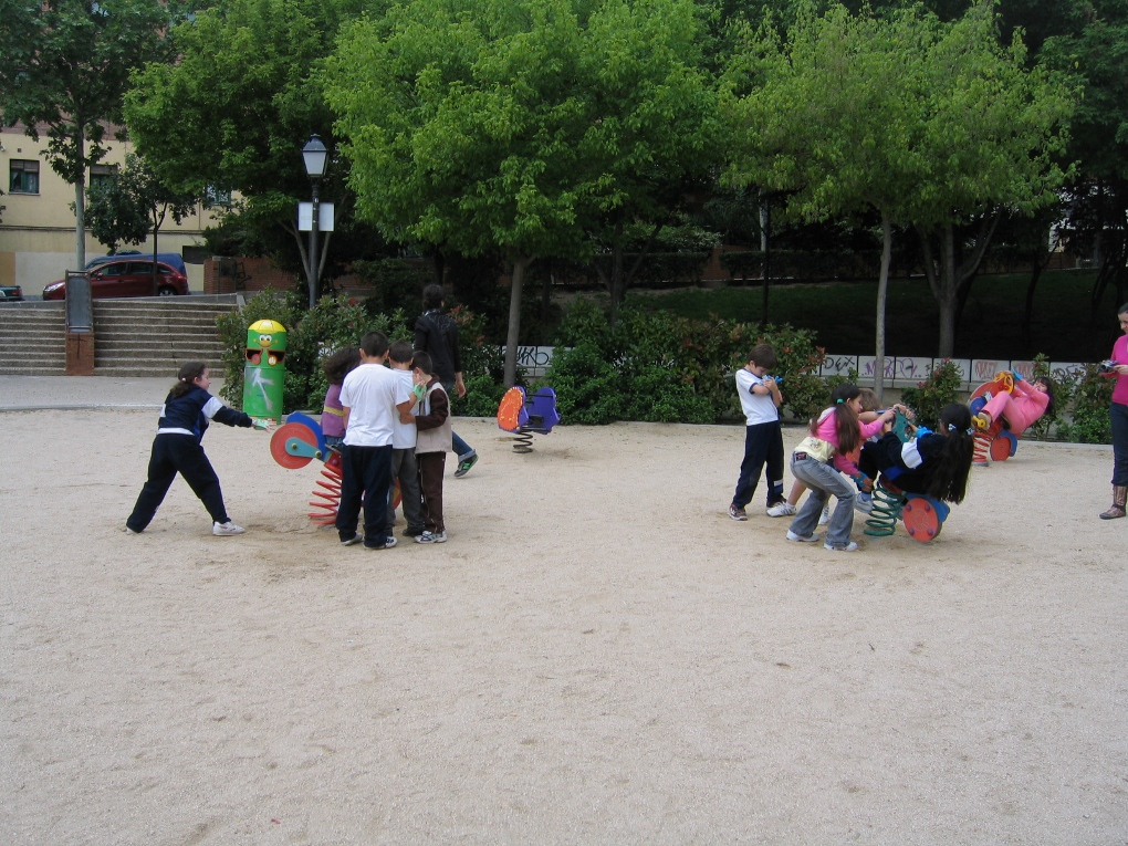 Hybrid Playground at Legazpi, Intermediae, Madrid, 2008