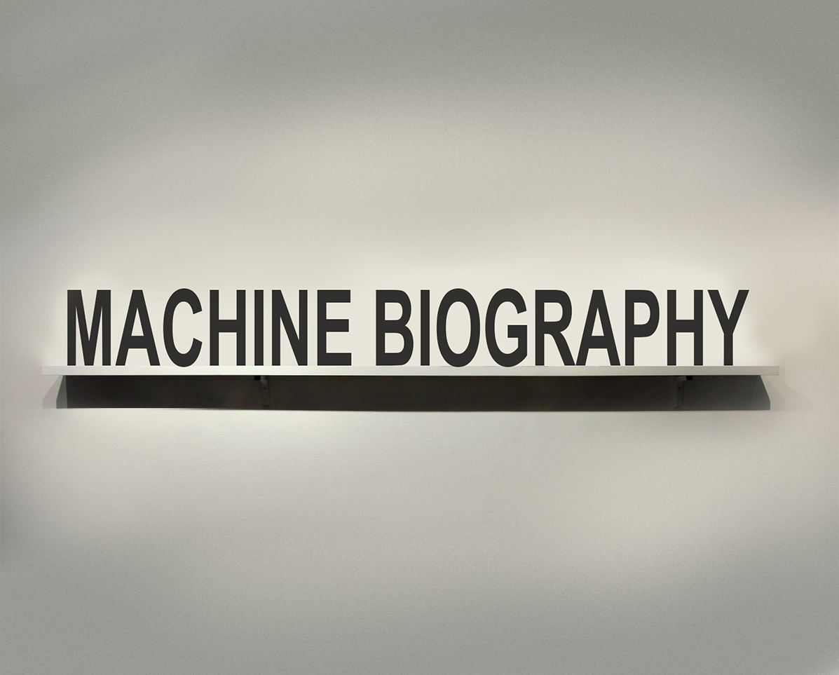 machine biography