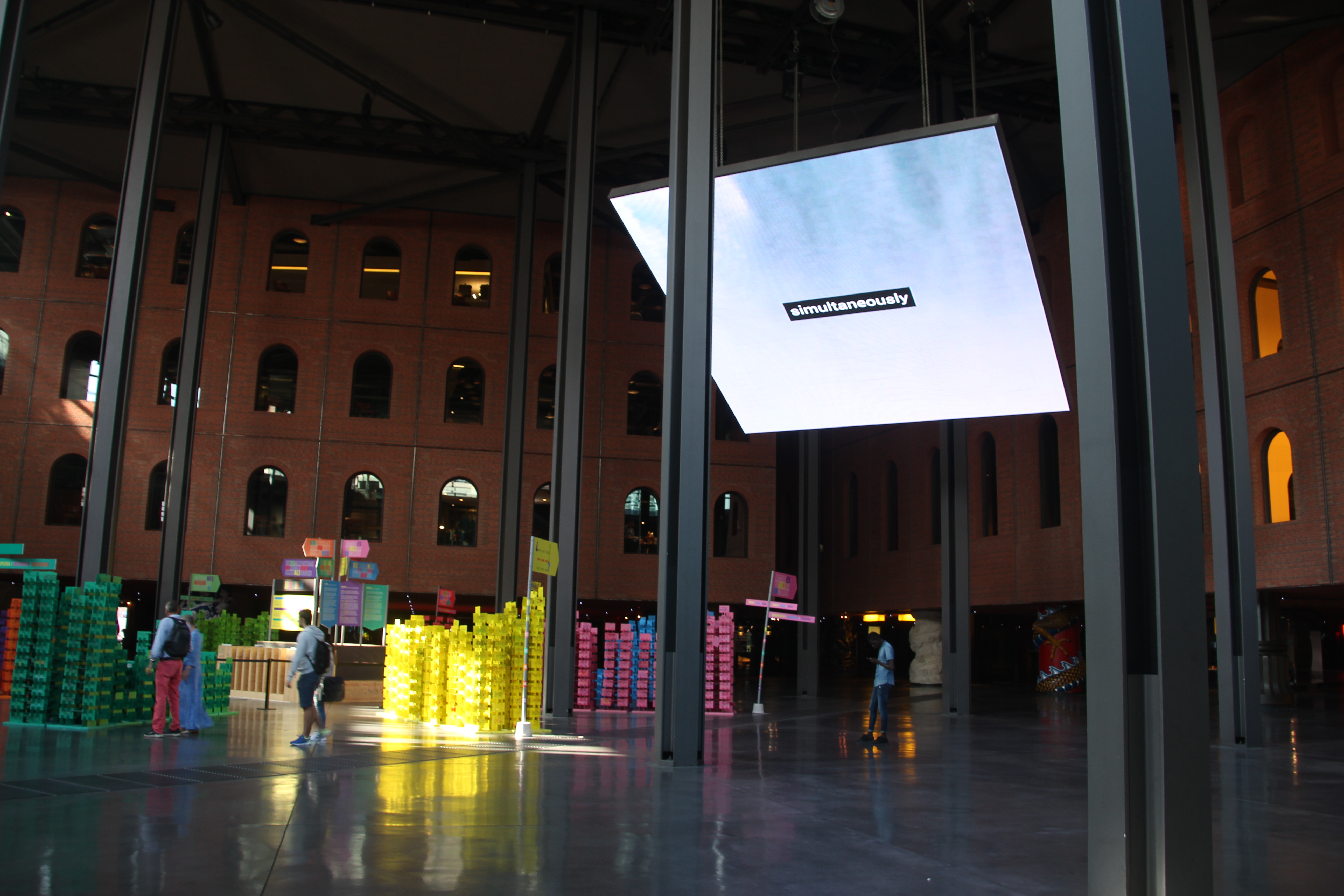 Identidad Cuántica, Alhóndiga Bilbao, julio 2019
