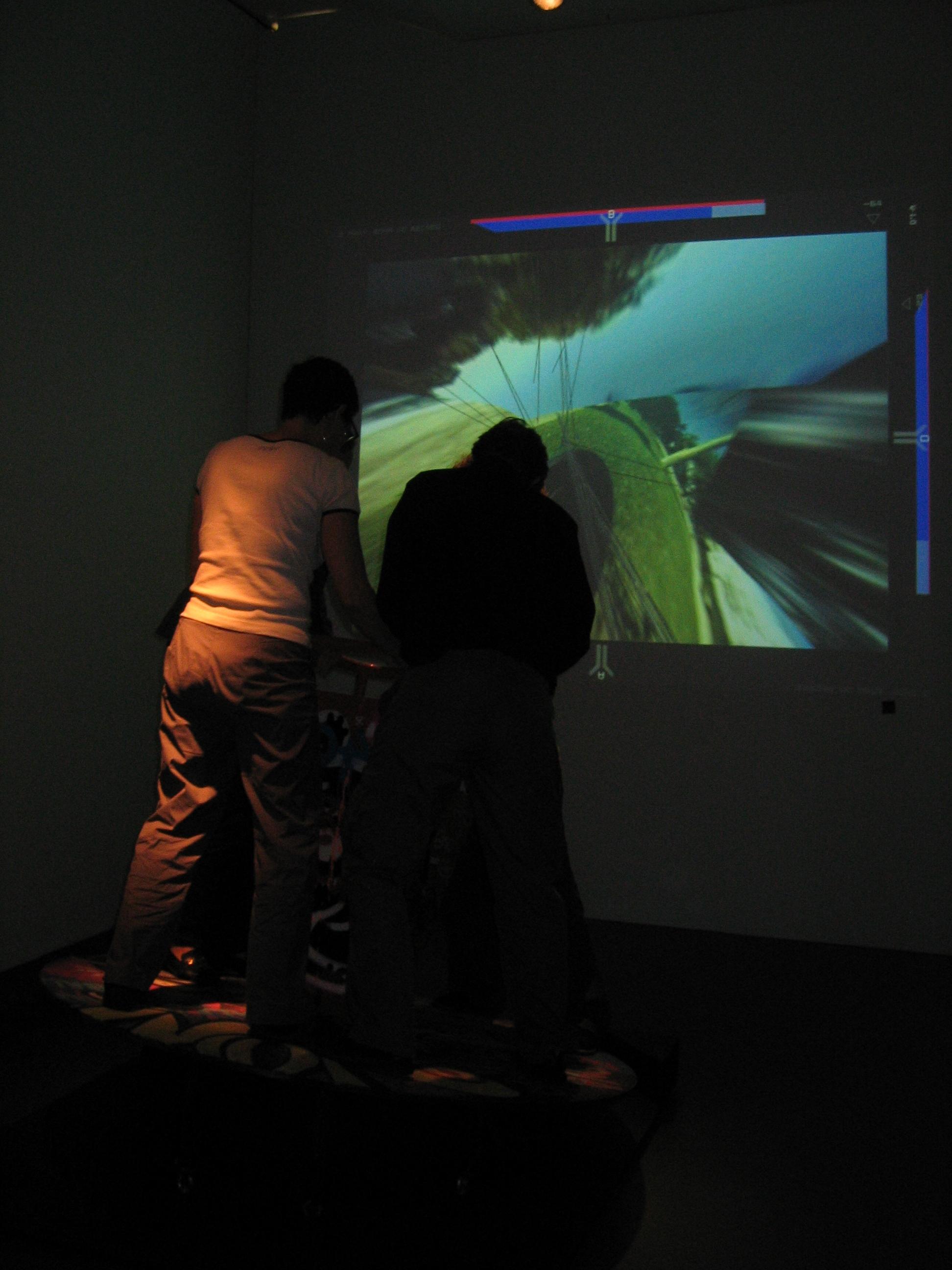 Zona de Recreo, Kiasma Art Museum, ISEA Helsinki, 2004